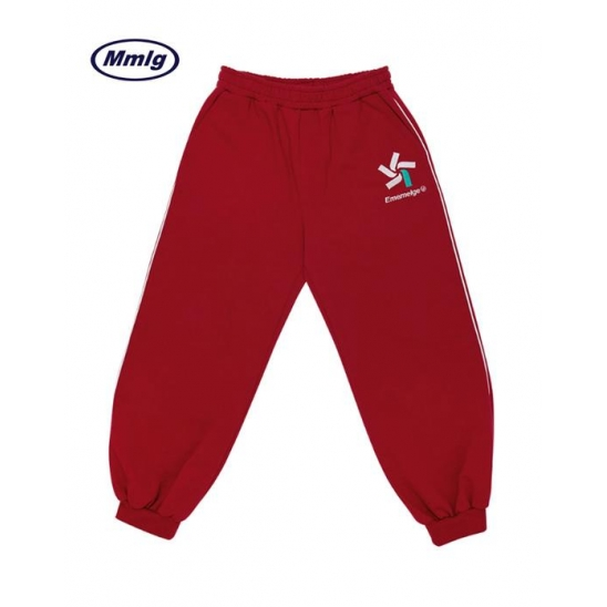 [MMLG] S/B SWEAT PANTS (RED)
