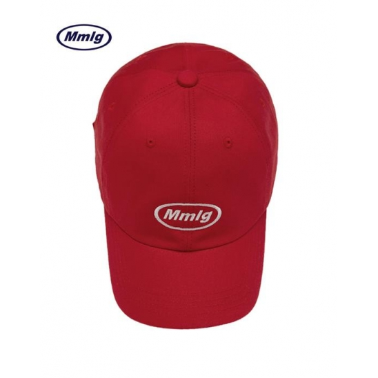 [Mmlg] MMLG BALL CAP (RED)