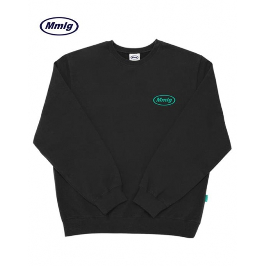 [Mmlg] MMLG SWEAT (CHARCOAL BLACK)