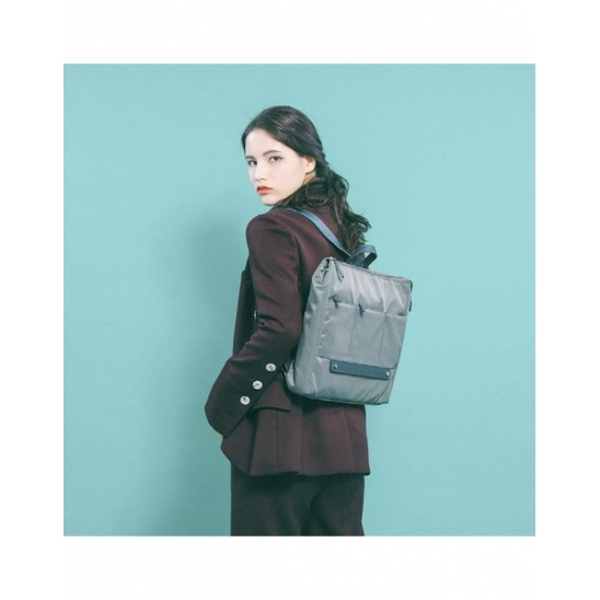 Wide Laptop BackPack gray