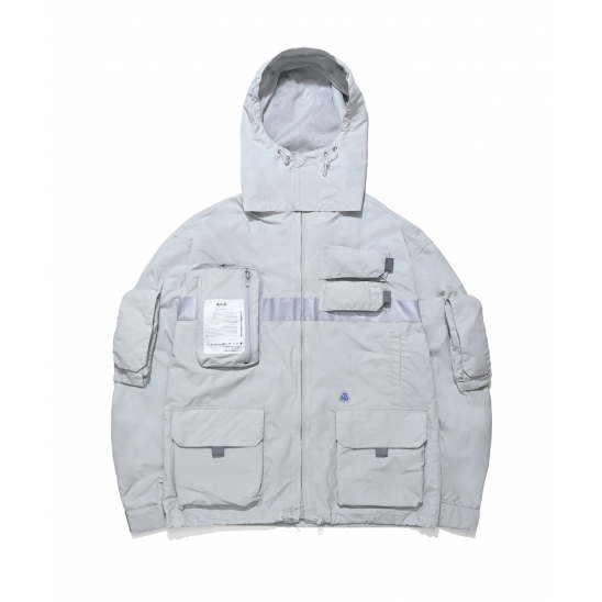 9 Pocket Smock Jacket (gray)