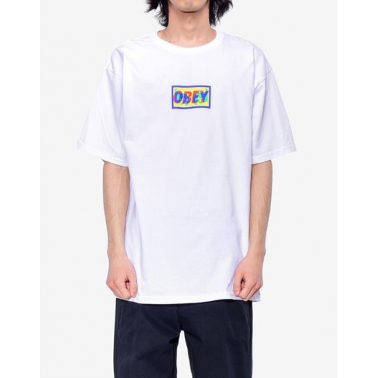 TRANSPARENT OBEY WHITE