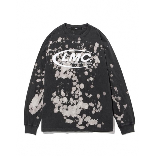 LMC CO BLEACH LONG SLV TEE black