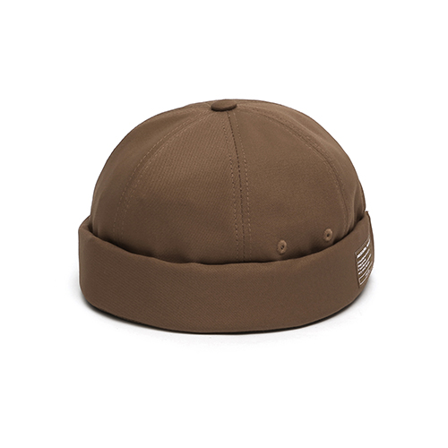 MOLD CAP / TWILL COTTON / D BROWN