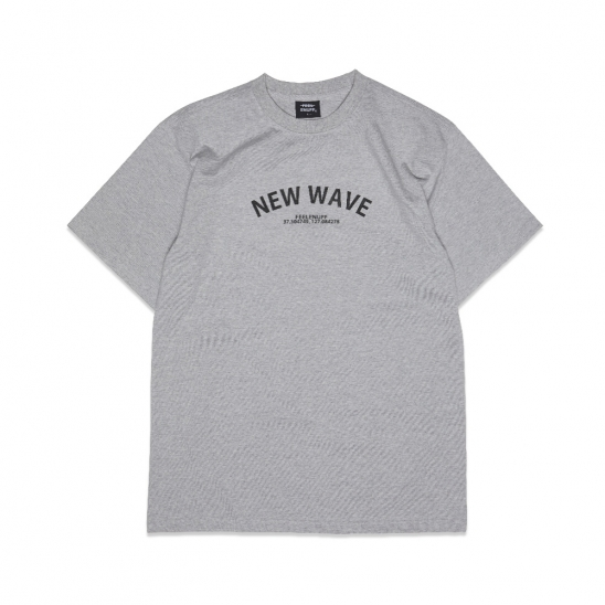 NW ARCH LOGO T-SHIRTS GRAY