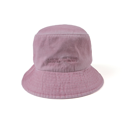 Washed Bucket Hat (HAND MADE) - PINK