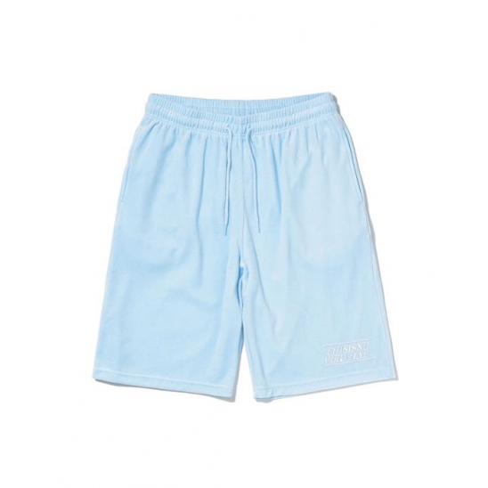 Velour Short Sky Blue