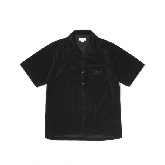 Velour S/SL Shirt Black