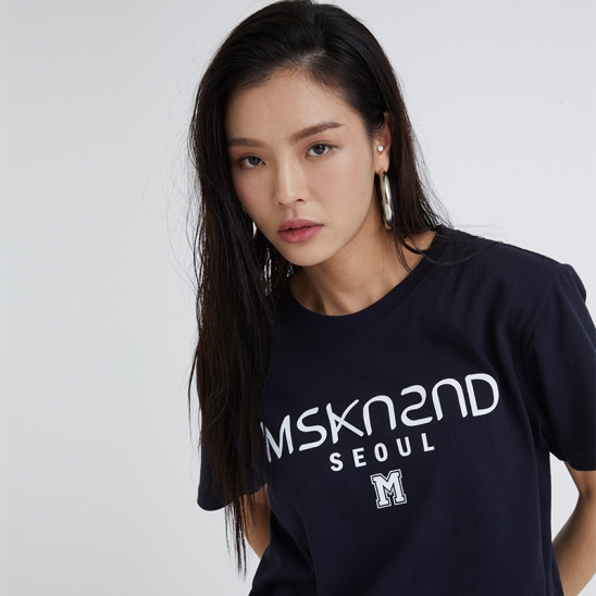 MSKN2ND LOGO SS T-SHIRT NAVY