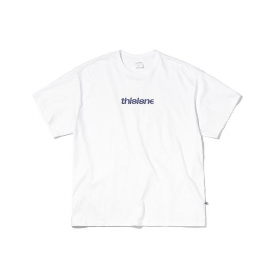 EMB. HSP Tee White