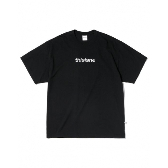 EMB. HSP Tee Black