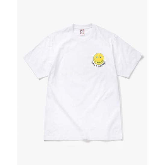 have a good Smile S/S Tee - WHITE