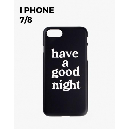 have a good night iPhone Case 7/8 - BLACK