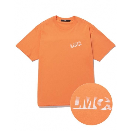 LMC SHADOW TEE salmon
