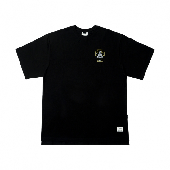 SUICIDE OVERSIZED T-SHIRTS BLACK