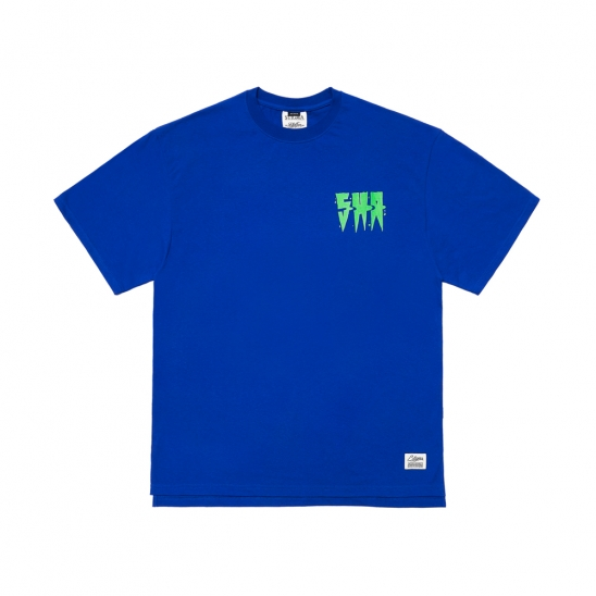 SPREAD OVERSIZED T-SHIRTS BLUE