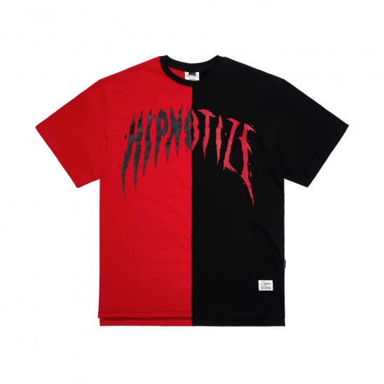 HALF OVERSIZED T-SHIRTS RED