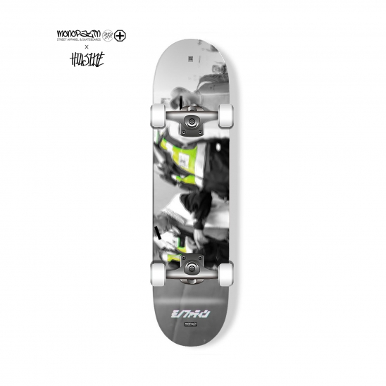 monopatin x hillside collaboration arrest complete skateboard