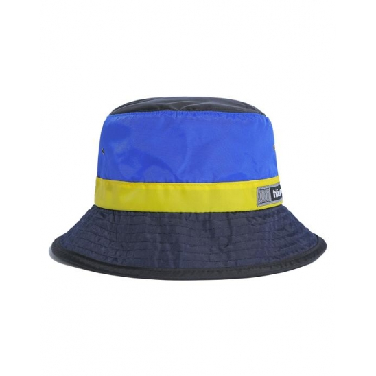 Nylon Bucket Hat Blue/White