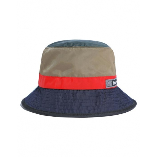 Nylon Bucket Hat Beige/Navy