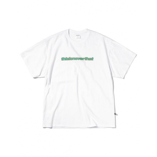 Bubble SP Tee White