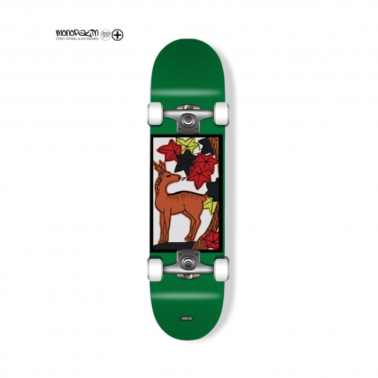 "tazza ""maple"" complete skateboard"