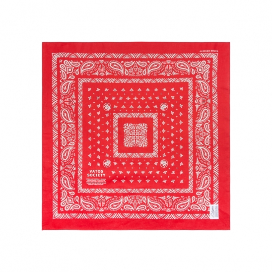 VATOS BANDANA RED