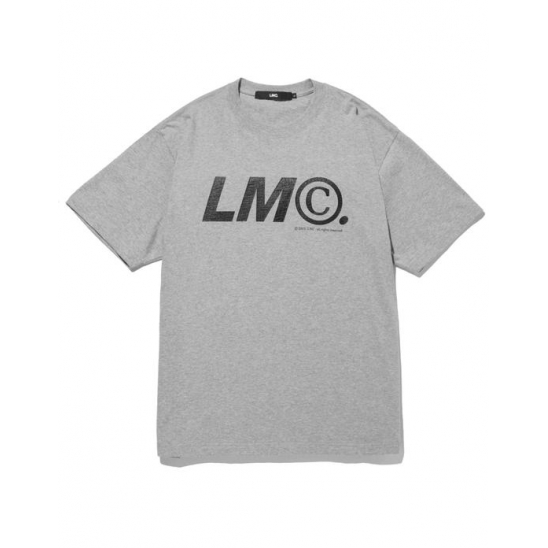 LMC COPYRIGHT TEE heather gray