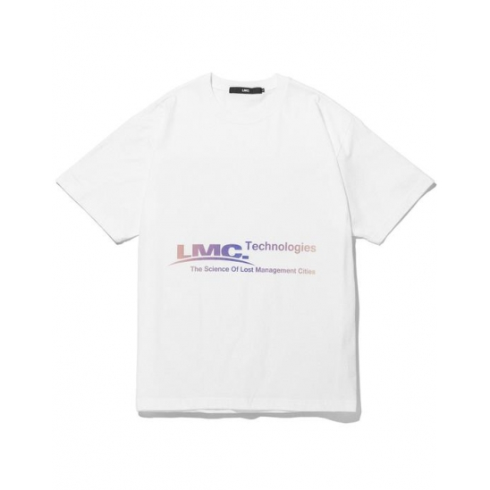 LMC TECH GRADIANT TEE white