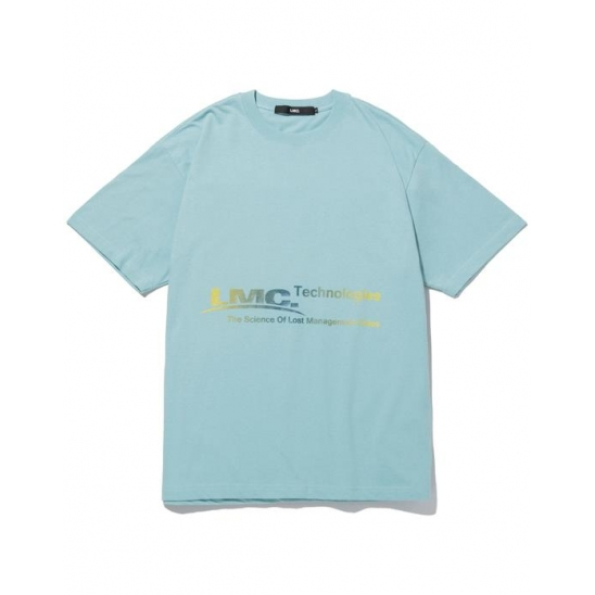 LMC TECH GRADIANT TEE mint