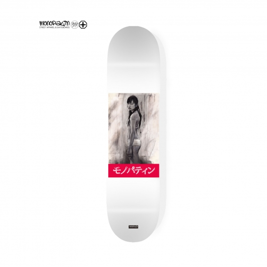 nippon girl skateboard deck