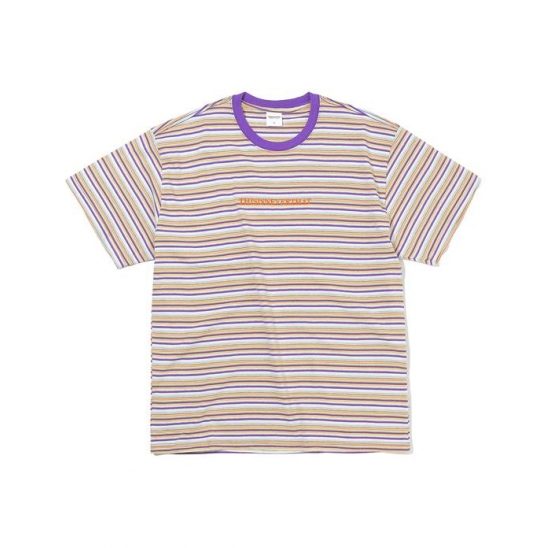 Cherokee Striped Tee Ivory