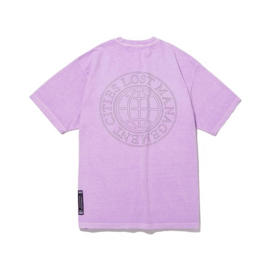 LMC OVERDYED CLASSIC WHEEL TEE lt. purple