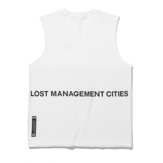 LMC OG OVERSIZED SLEEVELESS TEE white