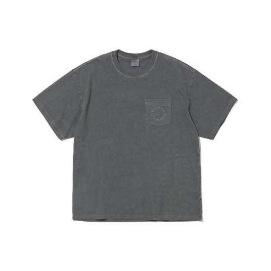 C-UNION Pocket Tee Charcoal