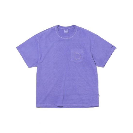 C-UNION Pocket Tee Purple