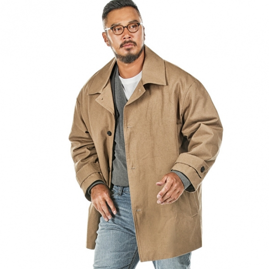 RUGGED HOUSE : HEIMISH HALF COAT 베이지