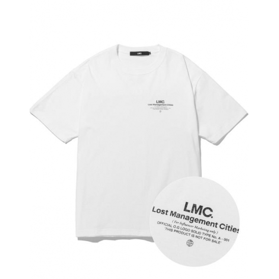 LMC INFLUENCER TEE white
