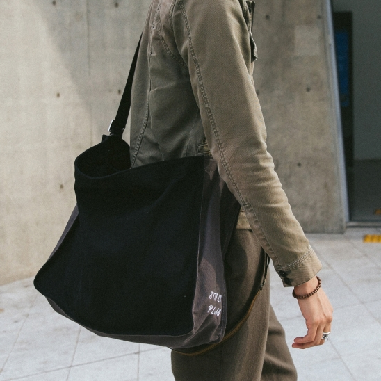 [로아드로아]ROIDESROIS - MURMUR SHOULDER BAG (BLACK/GRAY) 숄더백 가방