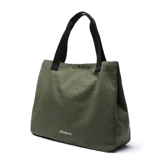 [로아드로아]ROIDESROIS - SNAP BIG SIZE TOTE BAG (KHAKI) 가방 토트백