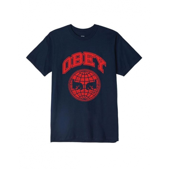 OBEY ICON PLANET NAVY