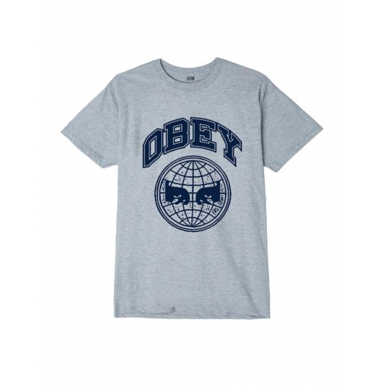 OBEY ICON PLANET HEATHER GREY