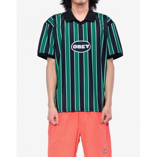 PENALITY SOCCER POLO SS GROWTH GREEN MULTI