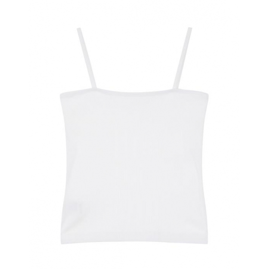 SQUARE BASIC BUSTIER WT 엠오엠씨