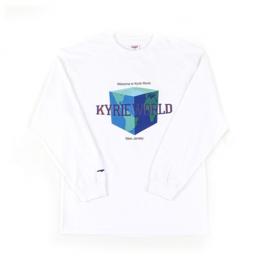 Kyrie World L/S White