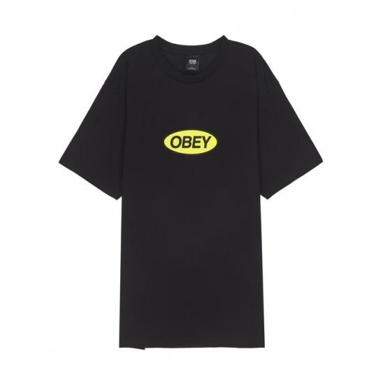 OBEY STACKED BLACK