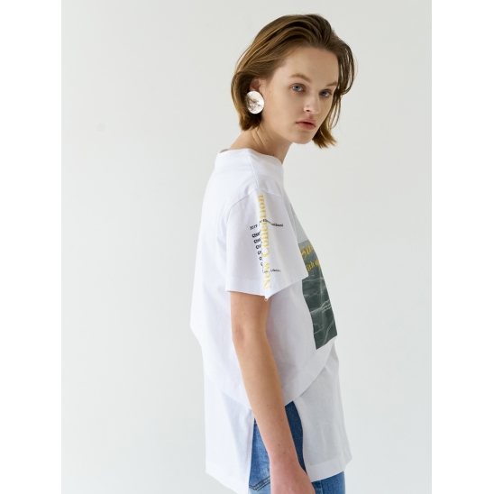 LONG VACATION T-SHIRTS_WHITE