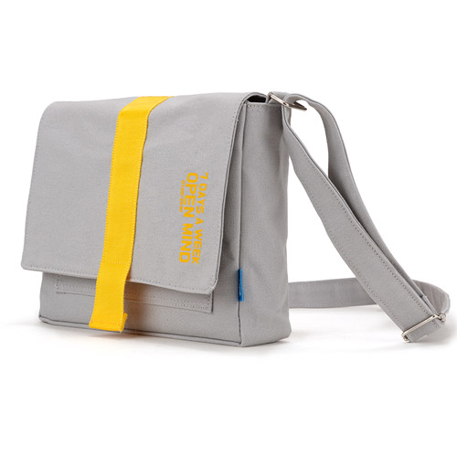 [핍스] PEEPS open mind mini cross bag(gray)