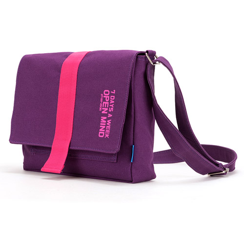 [핍스] PEEPS open mind mini cross bag(violet)