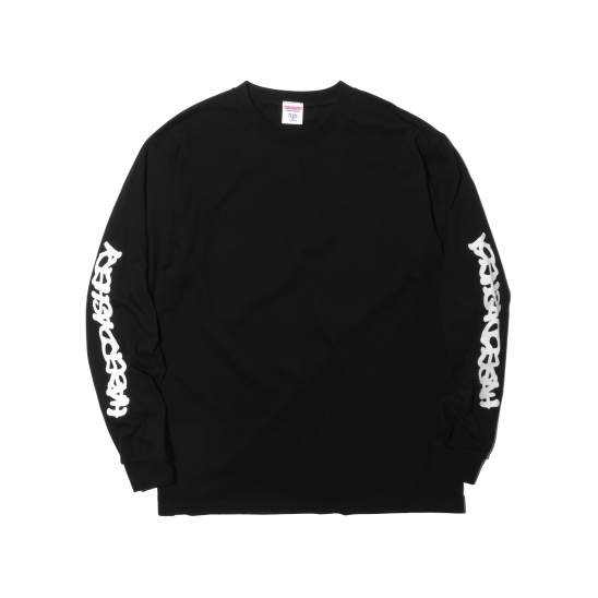 WAVE LONG SLEEVE (BLACK)